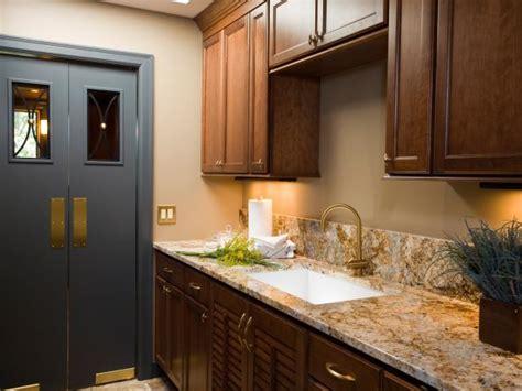 laundry room  granite countertops  custom cabinets
