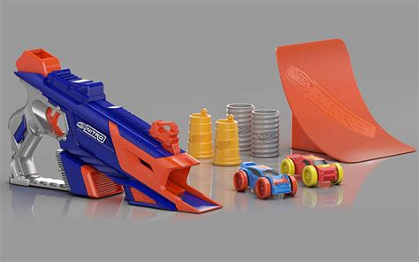 nerf car shooter hasbro takes on wheels with foam car shooting nerf