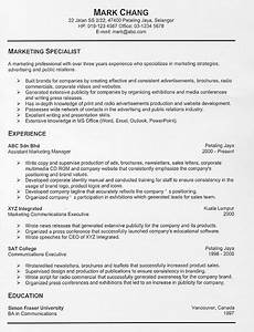Resume examples templates free resume examples and for Sample resume for experienced marketing professional