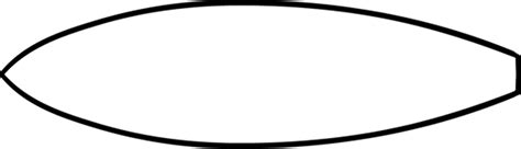 surfboard template surfboard coloring pages to and print for free