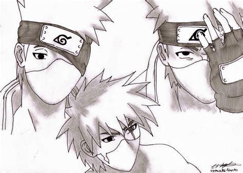 Anime Wallpaper Easy To Draw by Kakashi Anime Drawing Fan 30734163 Fanpop