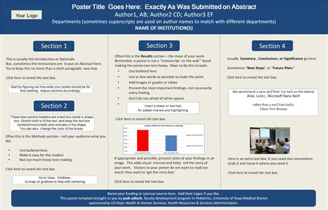 How To Make A Poster Template In Powerpoint by Poster