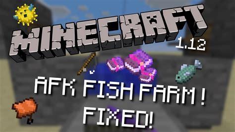 minecraft  afk fish farm fixed pcxboxps