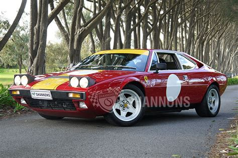 sold ferrari dino  gt coupe auctions lot  shannons