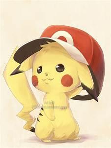 cute, pekatchooo, pikachu, pokemon - image #122157 on ...