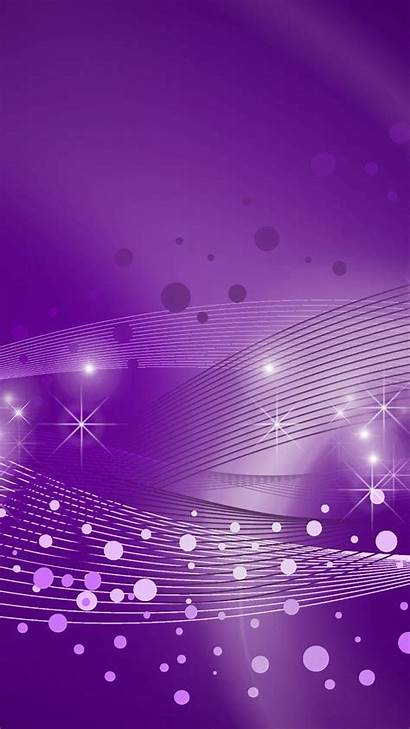 Purple Background Bubbles Living