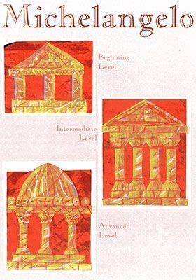 renaissance craft ideas michelangelo projects for michelangelo was a 2829