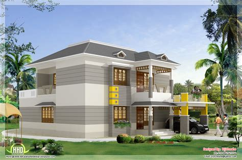 Home Design : 2700 Sq.feet Kerala Style Home Plan And Elevation