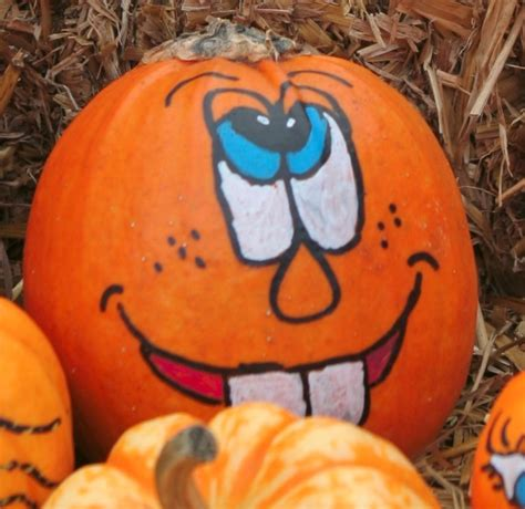 painted pumpkin faces painted pumpkins fun fall crafts for kids