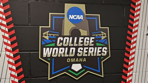 college world series finals  tv schedule scores