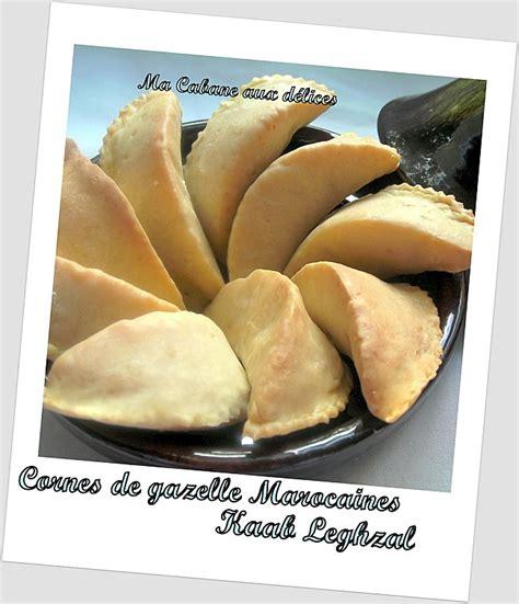 de cuisine orientale pour le ramadan corne de gazelle marocaine kaab legzhal recettes
