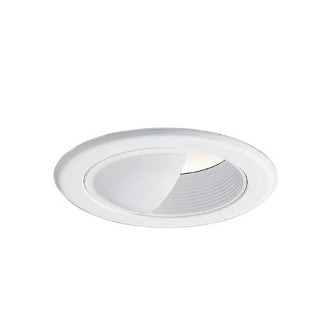 halo 5 in white recessed ceiling light wall wash baffle