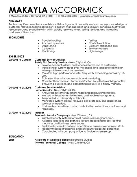 Banking Resume Template Customer Services Advisor Cv Estate Cv Pictures To Pin On