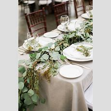 Greenery Garland Runner  Elizabeth Anne Designs The