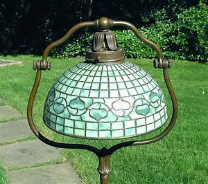chasenantiquescom lamps tiffany studios 12quot acorn With tiffany acorn floor lamp