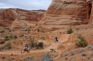 Motorcycle Trails Moab Utah