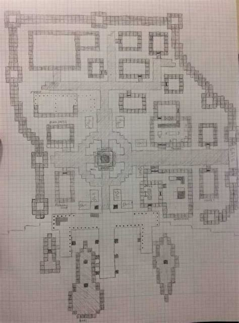 completed floor plan   upcoming small town time    work minecraft blueprints