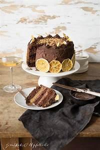 Schoko Orangen Torte : schokoladen orangen torte mit mandeln und schoko ganache ~ A.2002-acura-tl-radio.info Haus und Dekorationen