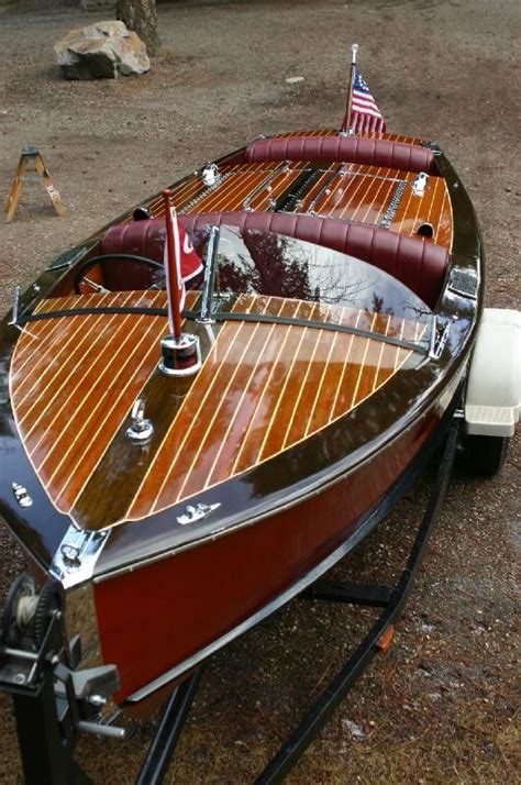 images  making waves  pinterest lakes classic boat  classic wooden boats