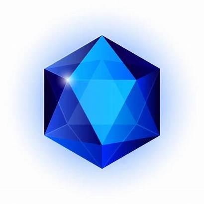 Sapphire Clip Vector Illustrations Crystal Gem Icon