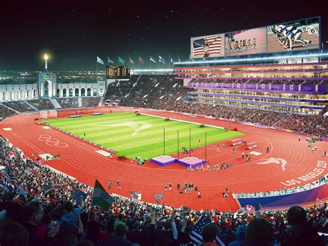 la  olympics mapping  sites   los angeles summer games curbed la