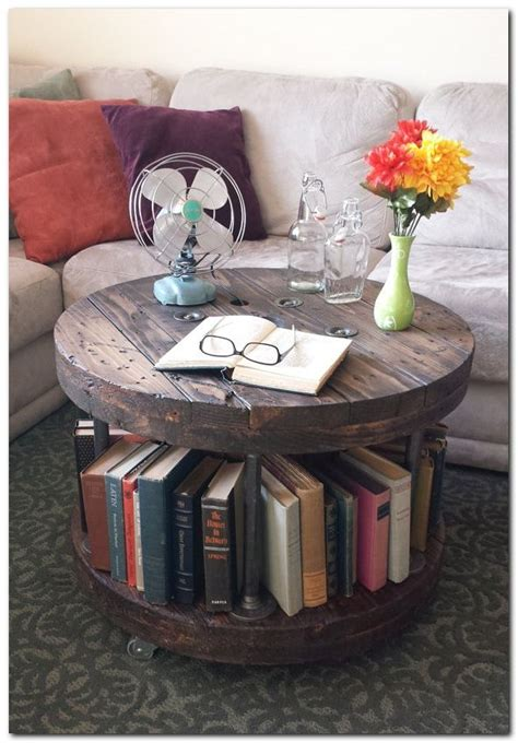You'll find a fantastic diy idea you're sure to love! Amazing and Crazy Bookshelf You've Never Seen Before | Wood project ideas | Diy coffee table ...