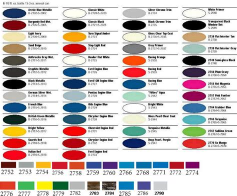 master car and truck enamel paint 2700 series 1 2oz