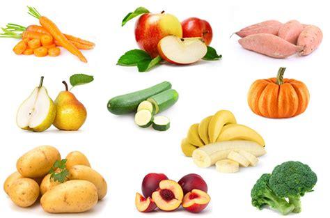 cuisine pour maigrir les 10 premiers aliments pour commencer la diversification