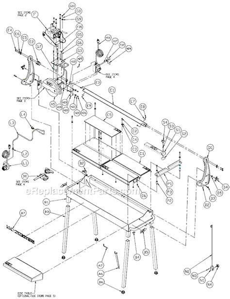 Mk 660 Tile Saw Wiring Diagram by Mk Tile Saw Parts Pictures To Pin On Pinsdaddy