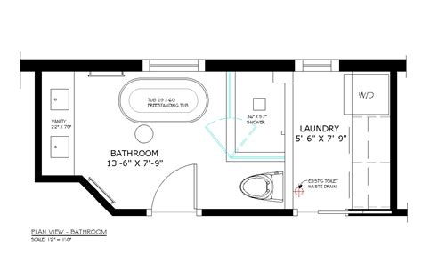 bathroom floor plans with washer and dryer bathroom design toilet width home decorating