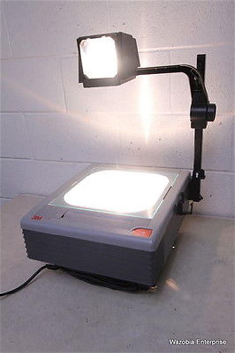 3m 2770 compact portable dual bulb overhead projector