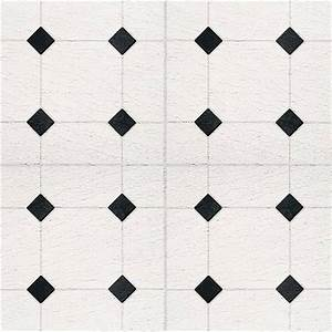 Black and white vinyl flooring sheet home designs project for Black and white linoleum sheet flooring