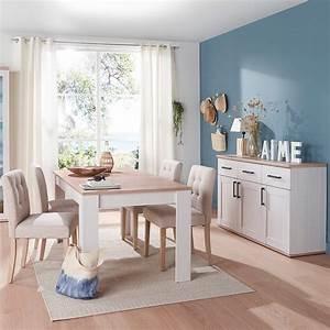 Table Basse Campagne Chic : table basse style campagne chic table basse style scandinave ronde blanche canap droit gris ~ Teatrodelosmanantiales.com Idées de Décoration