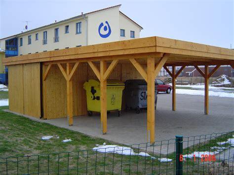 Carport 4,00 X 7,00 M Lärche Kvh Abstellraum Wandanbau