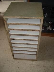 meuble rangement papier scrapbooking the pitbull art - Meuble Pour Ranger Ses Papiers