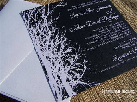 blog enchanted tree silhouette wedding invitations