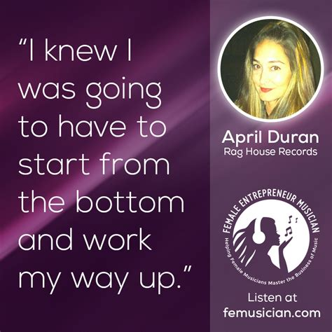 Start your new career right now! FEM14 Jobs for Music Majors & Climbing The Music Industry Ladder with April Duran - Female ...