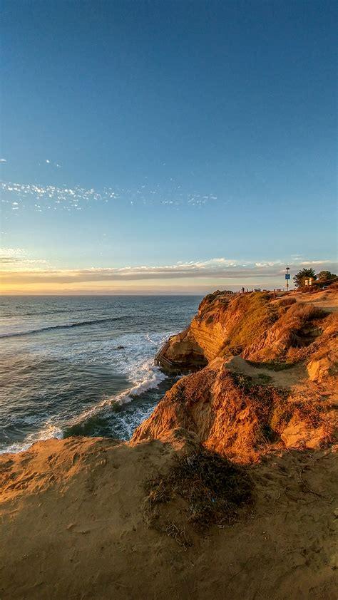 sunset cliffs ocean beach san diego ca