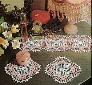 Set De Table Au Crochet : ergahandmade crochet doily diagrams ~ Melissatoandfro.com Idées de Décoration