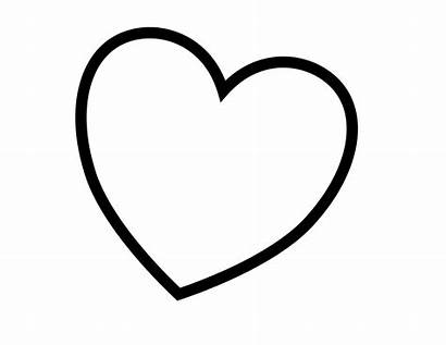 Hearts Coloring Valentines Svg Dotcom Blank1 Alphabet
