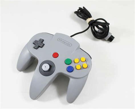 Original Nintendo 64 N64 Gray Controller Used