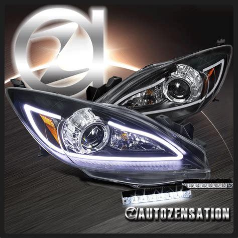 2010 mazda 3 led fog lights 2010 2013 mazda 3 black projector headlights led fog