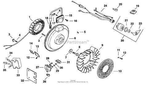 kohler ch  cub cadet  hp parts diagram