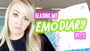 READING MY MOST EMBARRASSING DIARY - YouTube