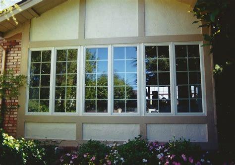 advanced window systems belmontca   andersen vinyl clad wood casement window mulled