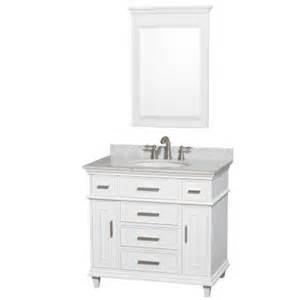 wyndham collection berkeley 36 in vanity in white with