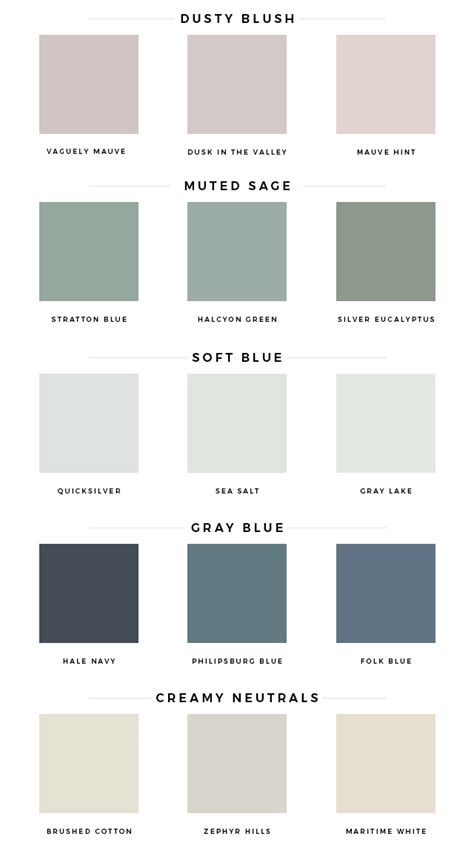 spring color palette mint modern home