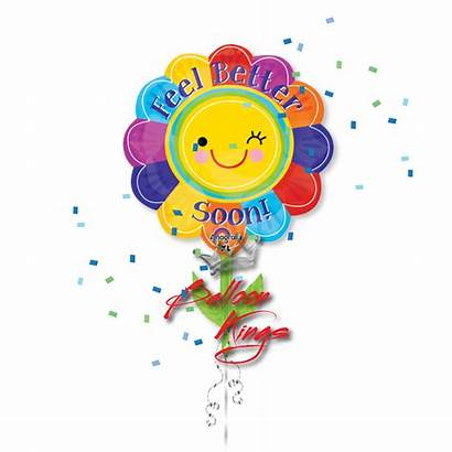 Better Feel Soon Flower Well Balloon Wishes