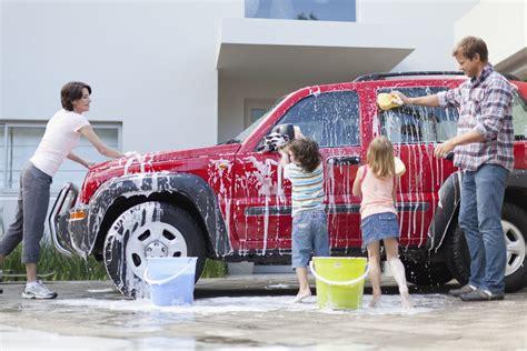 eco friendly car washing  hand    car wash