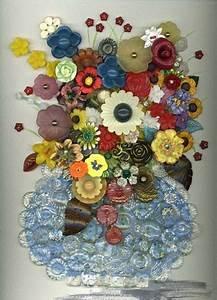 Bilder Mit Knöpfen : buttons crafty things knopf ideen basteln basteln mit kn pfen ~ Frokenaadalensverden.com Haus und Dekorationen